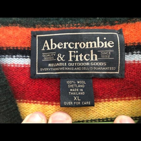 Men's LS Abercrombie sweater